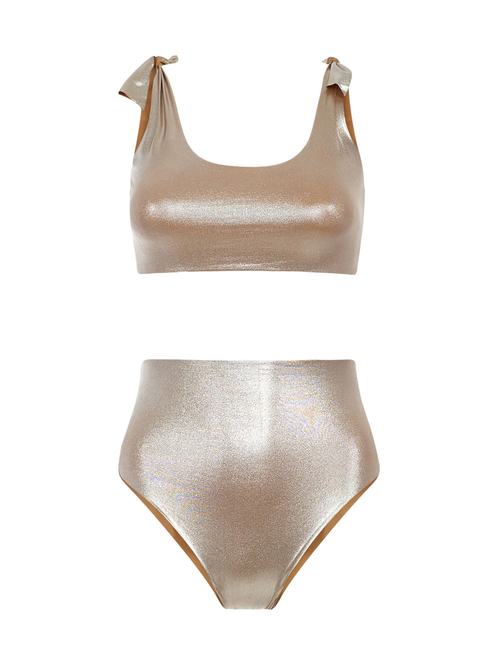 Knotting Bay High Waisted in Platinum