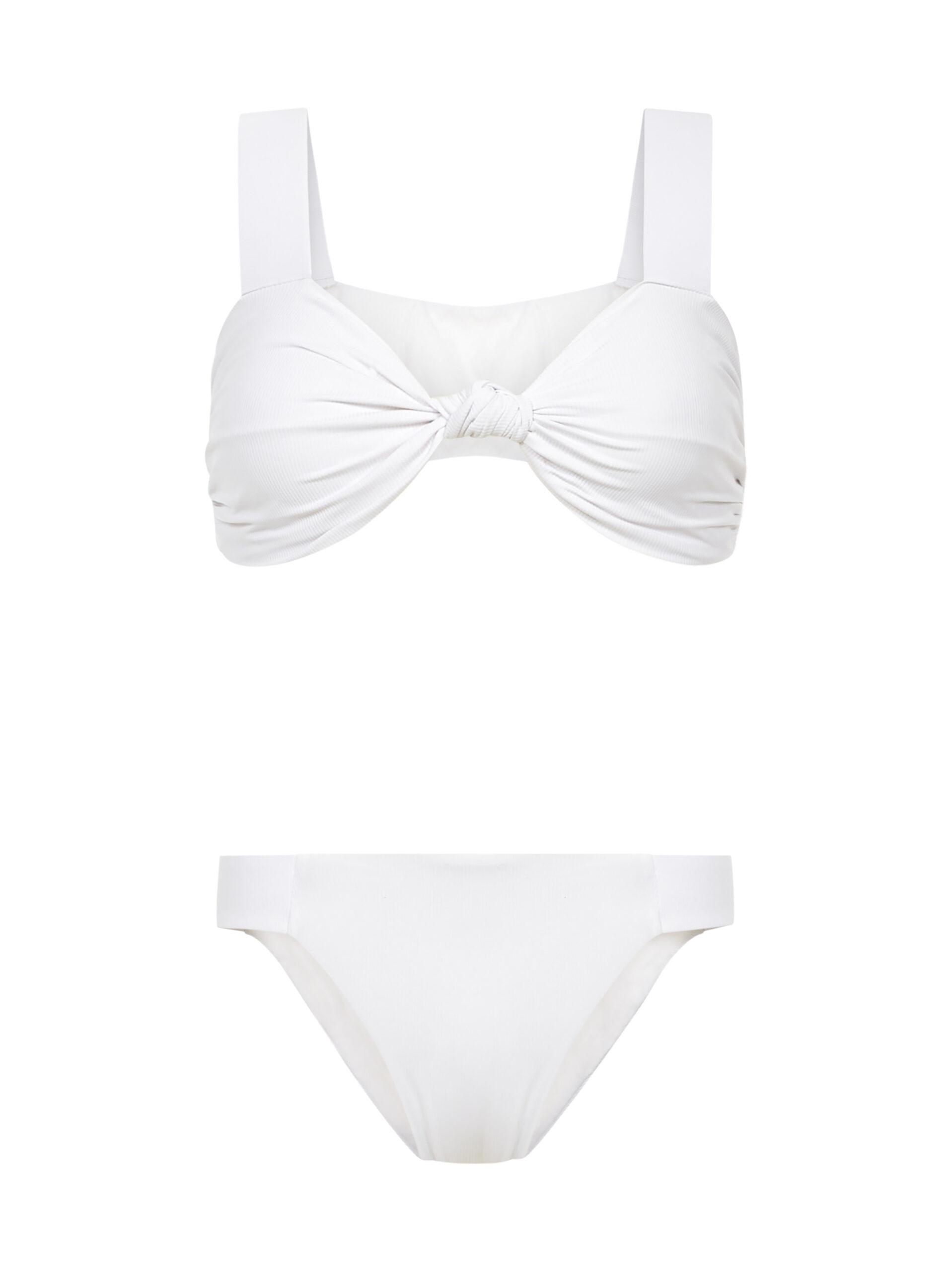 Nature Nautical White Bikini