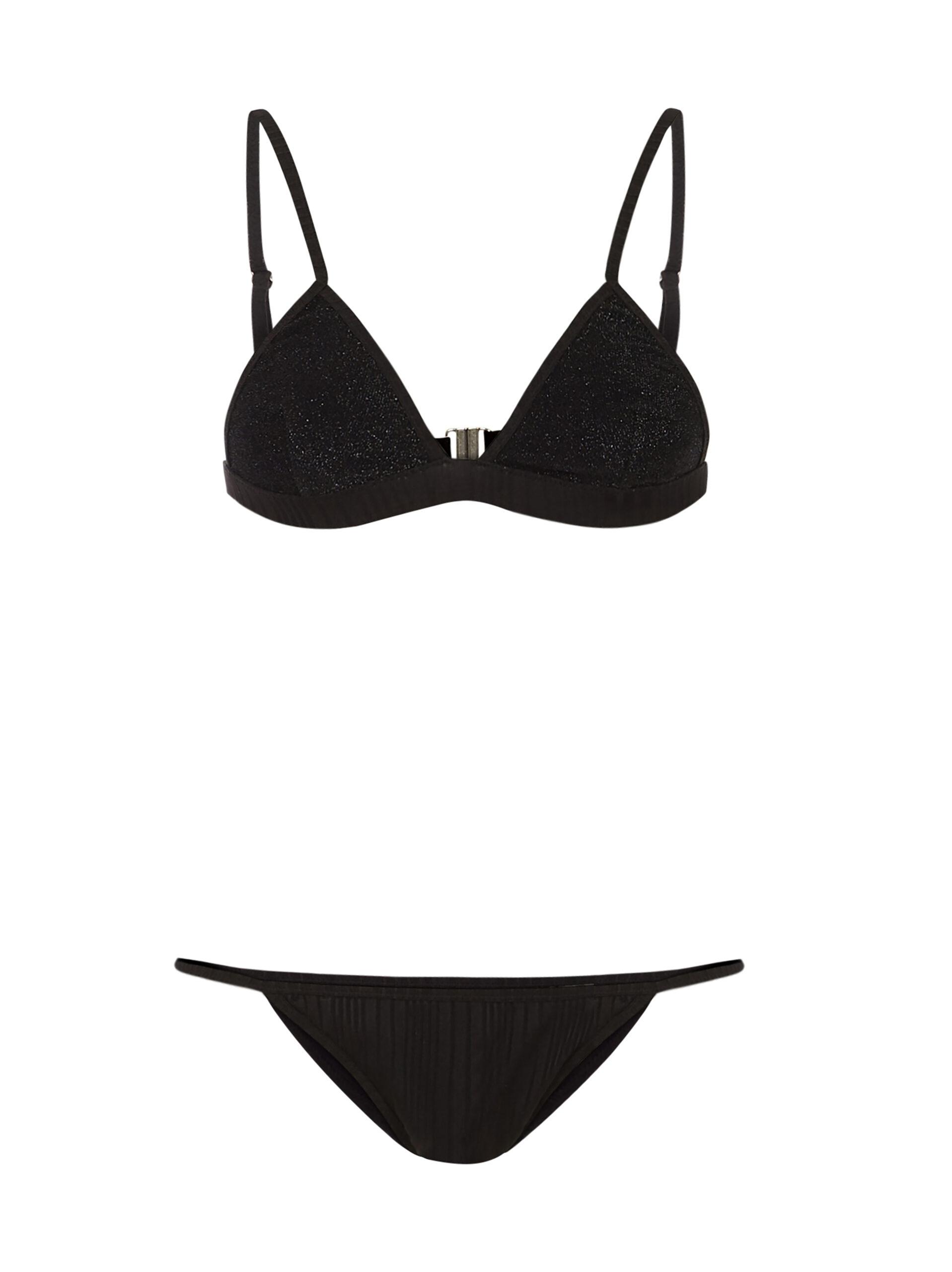 Stripes&Shine Bikini Onyx
