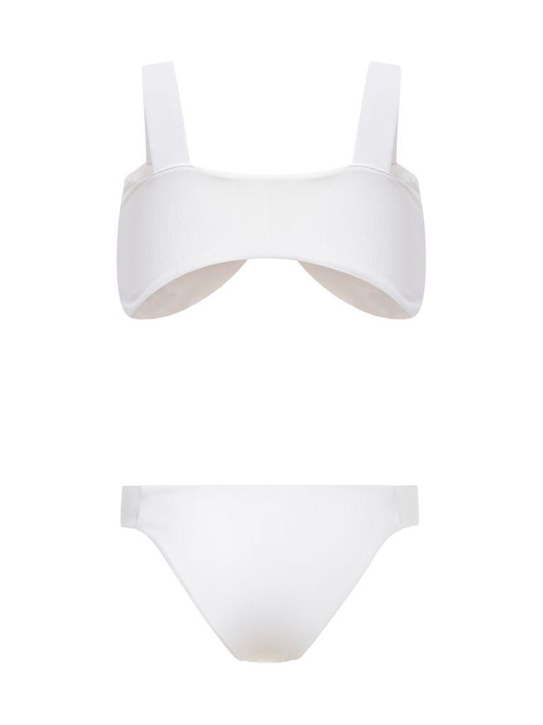 Nature Nautical White Bikini Back