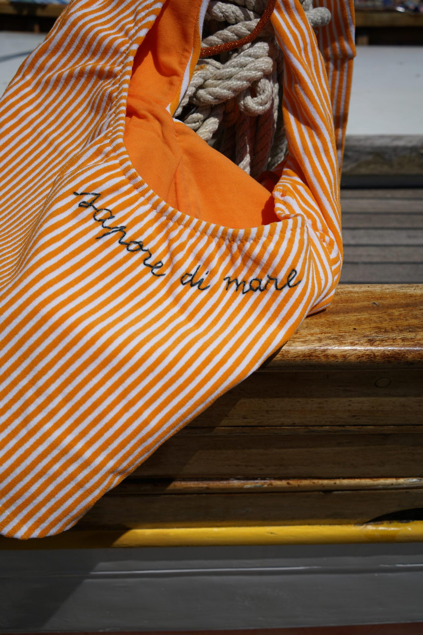 Stripes&Shine Orange Maillot